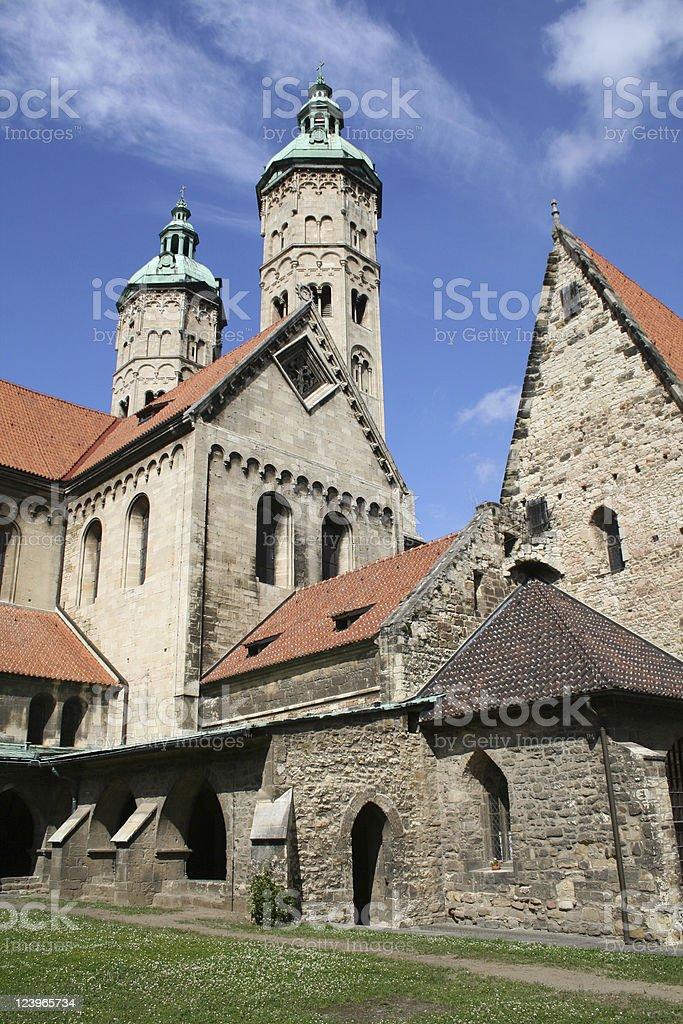 Cathedral of Naumburg stock photo