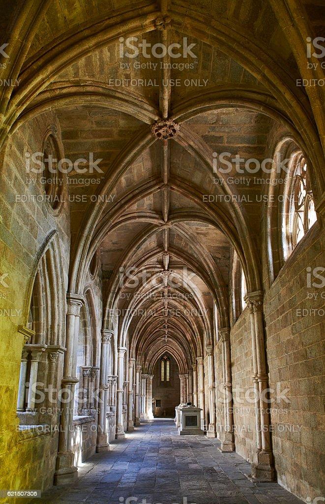 Cathedral of Nossa Senhora da Assuncao. Evora, Portugal. photo libre de droits