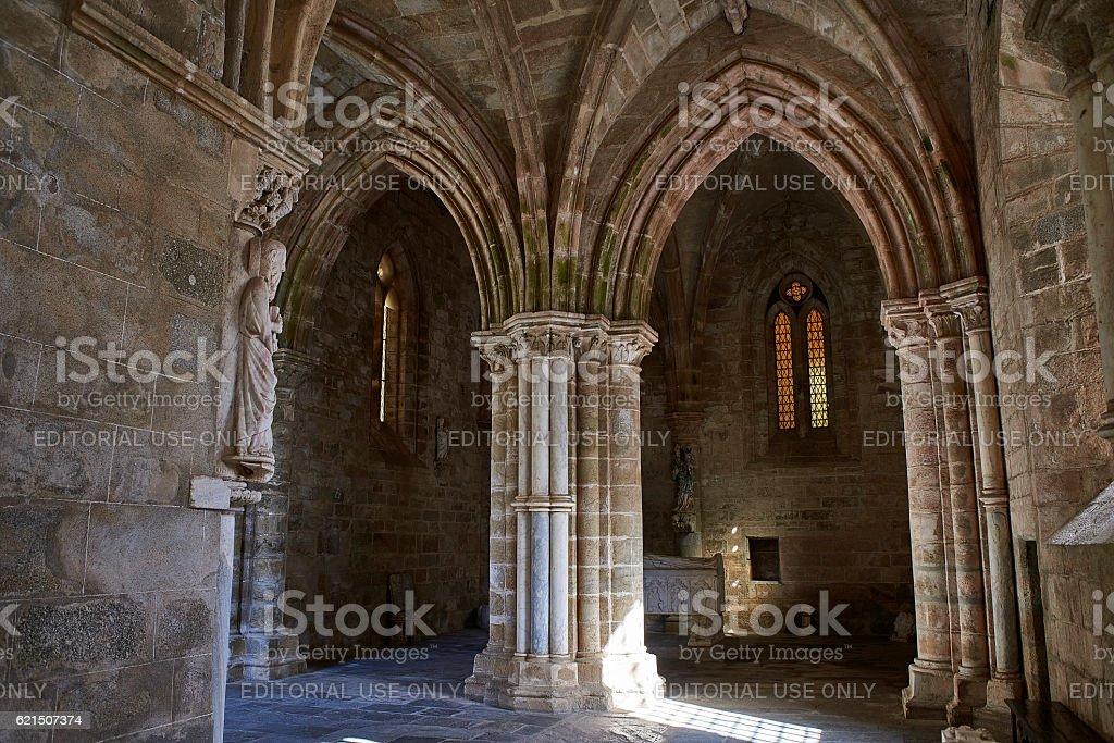 Cathedral of Nossa Senhora da Assuncao. Evora, Portugal. foto stock royalty-free