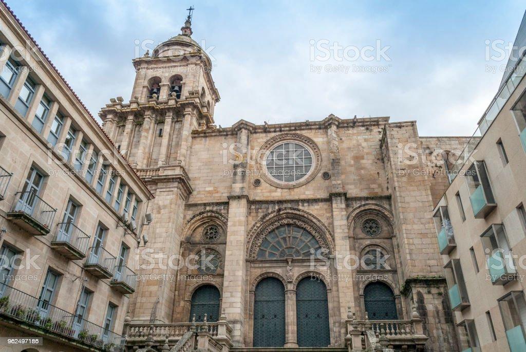 Catedral de Orense - Foto de stock de Arcaico royalty-free