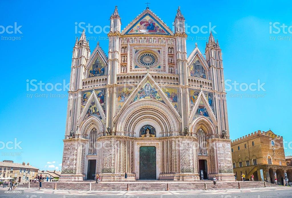 Dom von Siena (Duomo di Orvieto), Umbrien, Italien – Foto