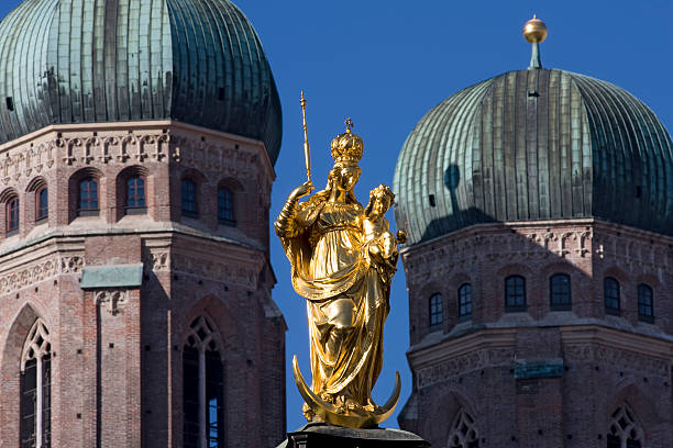 Cathedral of Our Blessed Lady, Munich stock photo