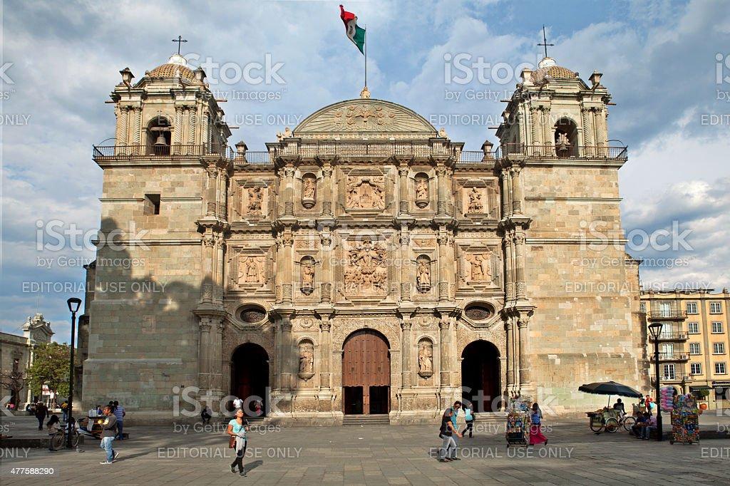Cathédrale de Notre-Dame de l'hypothèse, Oaxaca (Mexique - Photo