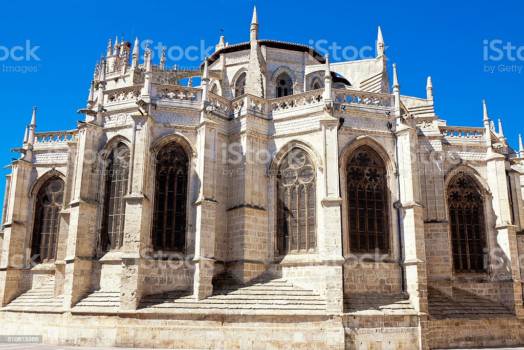 Cathedral of Palencia, Palencia, Castilla and Leon, Spain stock photo