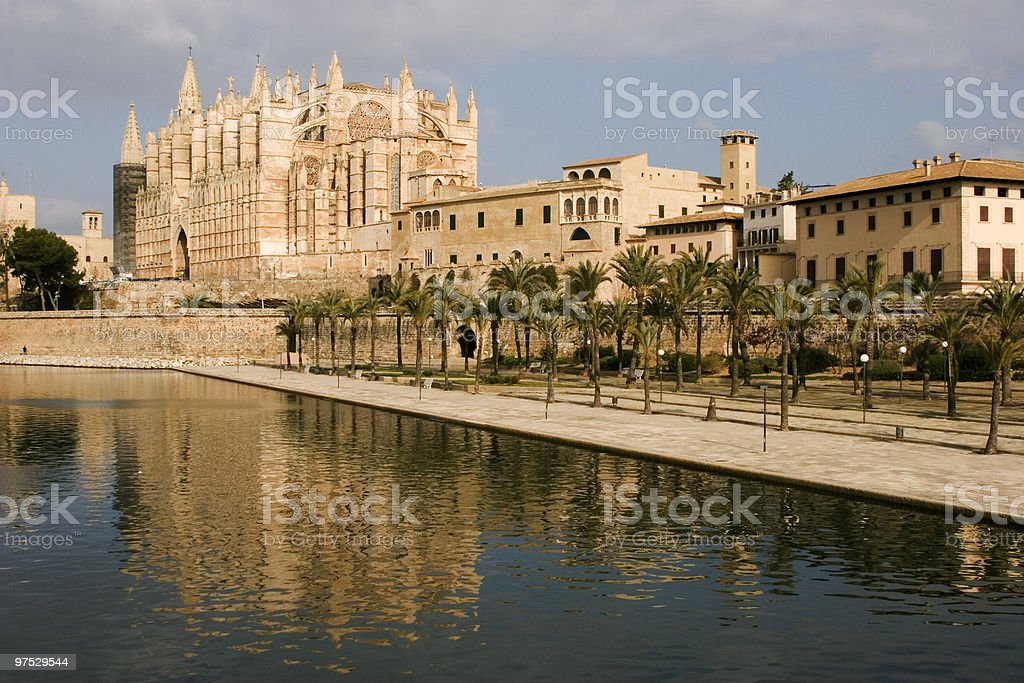 Cathedral of Palma royalty-free stock photo
