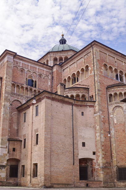 Cathedral of Parma stock photo