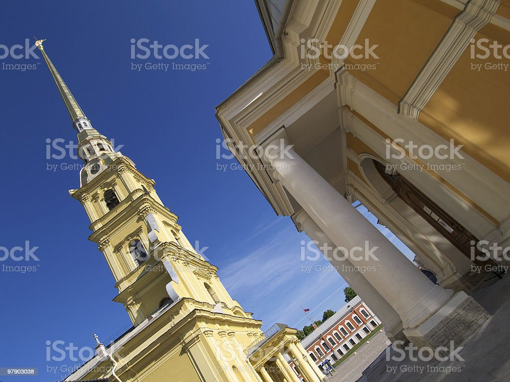 Cathedral of Peter and Pavel royalty-free stock photo