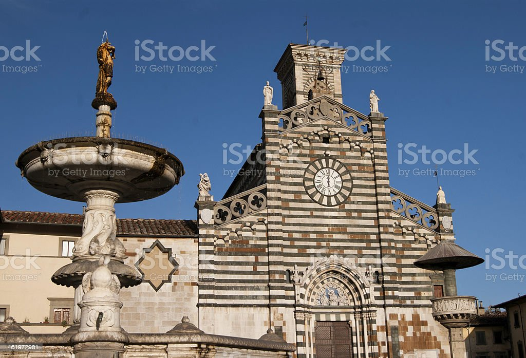 Cathedral of Prato royalty-free stock photo