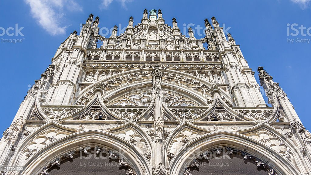 Cathedral of Saint John in 's-Hertogenbosch in the  Netherlands foto