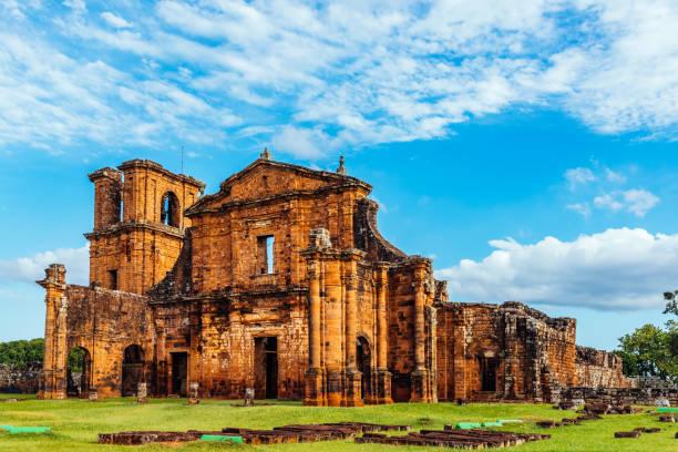 catedral de são miguel das missões - históricas local - rio grande do sul - fotografias e filmes do acervo