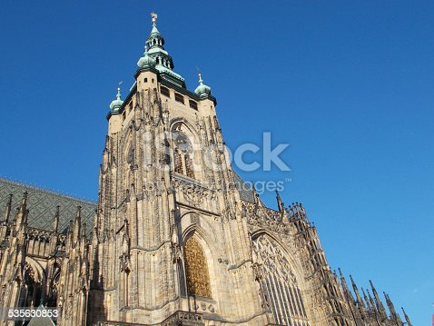 istock Cathedral of Saints Vitus, Wenceslaus and Adalbert 535630853