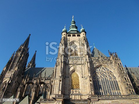 istock Cathedral of Saints Vitus, Wenceslaus and Adalbert 535630879