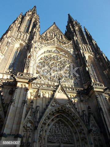 istock Cathedral of Saints Vitus, Wenceslaus and Adalbert 535634307