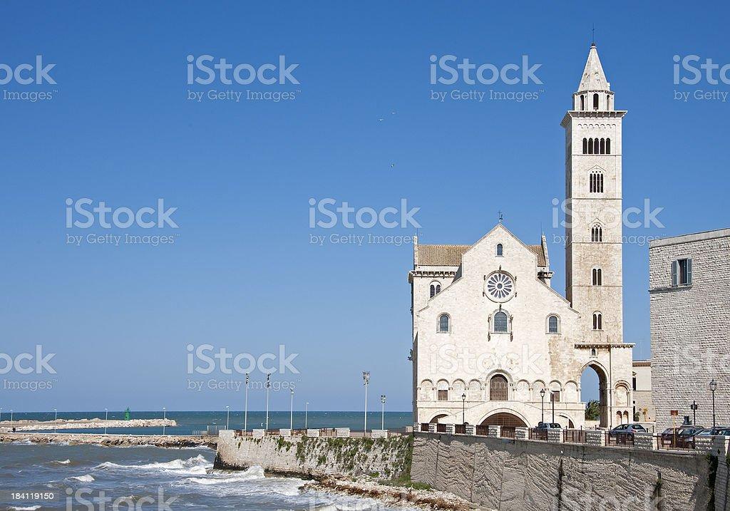 Cathedral of San Nicola Pellegrino stock photo