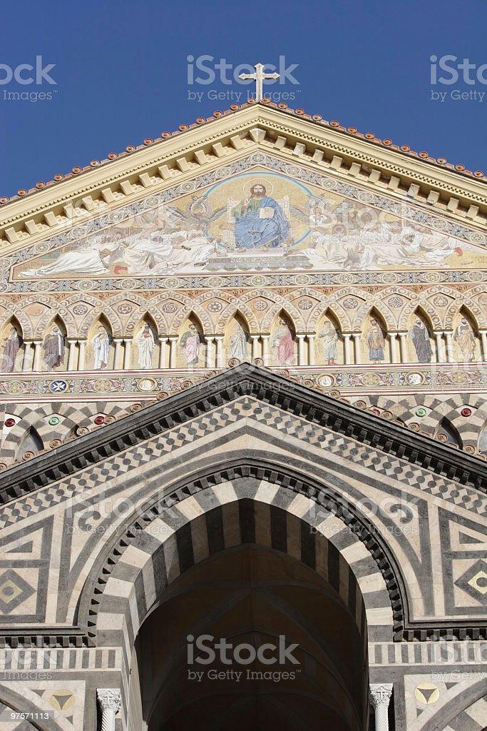 Cathédrale de Saint Andrea (Amalfi, Italie photo libre de droits