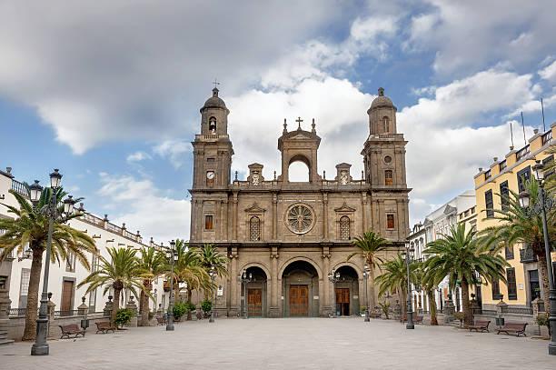 Catedral de Santa Ana Vegueta en Las Palmas. Gran Canaria - foto de stock