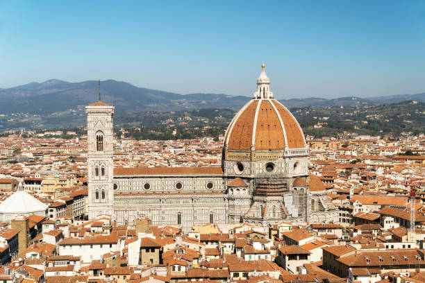 Cathedral of Santa Maria del Fiore, Florence, Italy stock photo