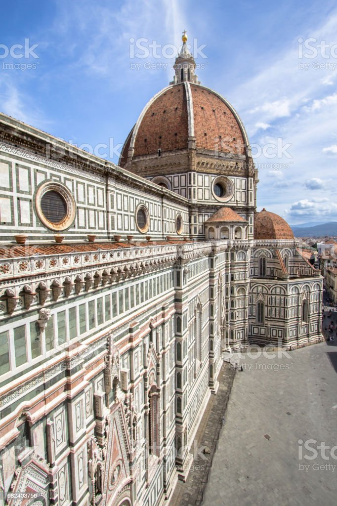 Cathedral of Santa Maria del Fiore, Florence, Italy royalty-free stock photo