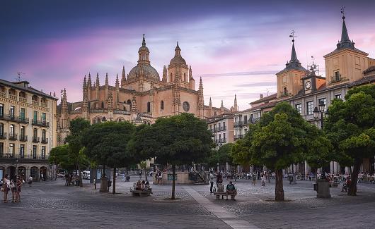 cathedral of Segovia,Castilla y León,Spain