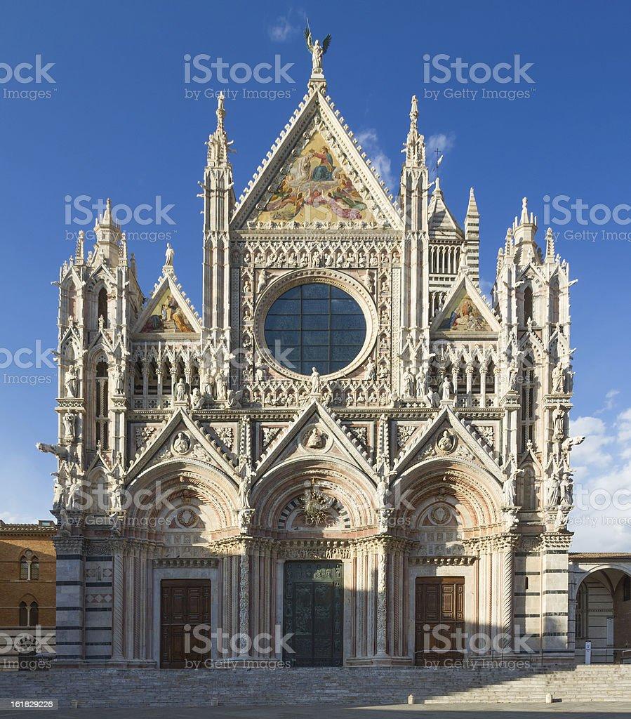 Cathedral of Siena, Tuscany, Italy royalty-free stock photo