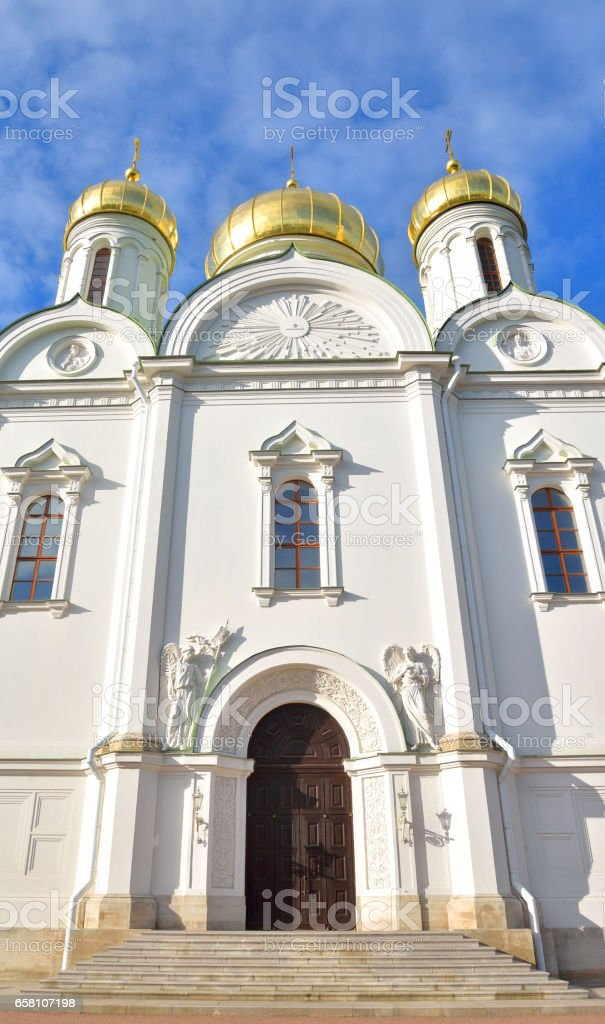 Cathedral of St. Catherine. royalty-free stock photo