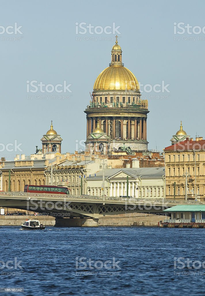 Cathedral of St. Isaac, Saint Petersburg royalty-free stock photo