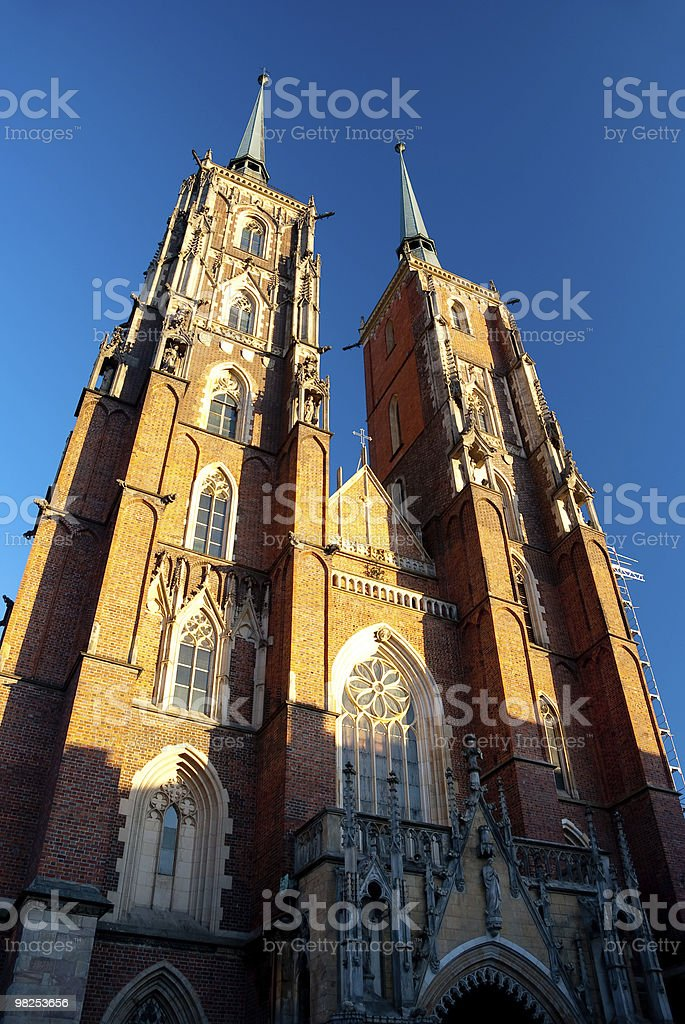Cathedral of St. John the Baptist royalty-free stock photo