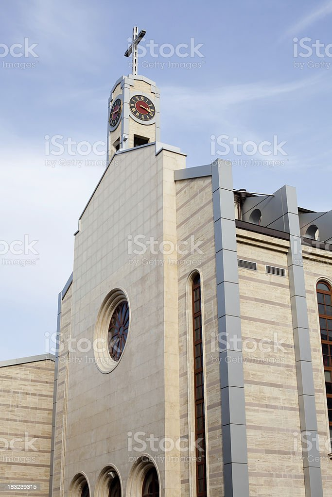 Cathedral of St Joseph royalty-free stock photo