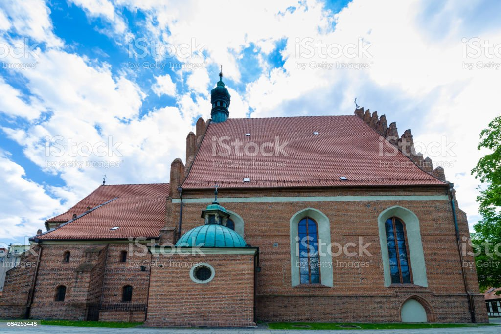 Cathedral of St. Martin and St. Nicholas in Bydgoszcz royalty-free stock photo