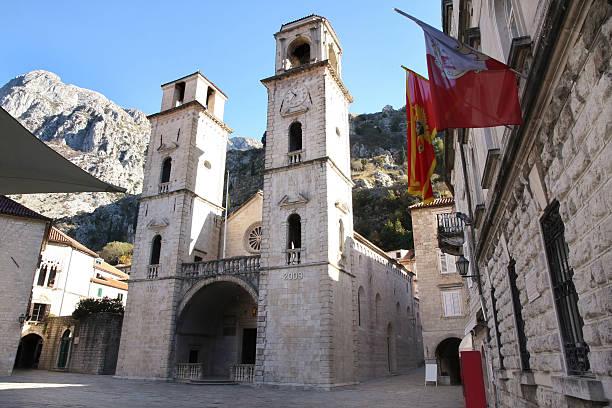 Sankt-Tryphon-Kathedrale in Kotor, Montenegro – Foto
