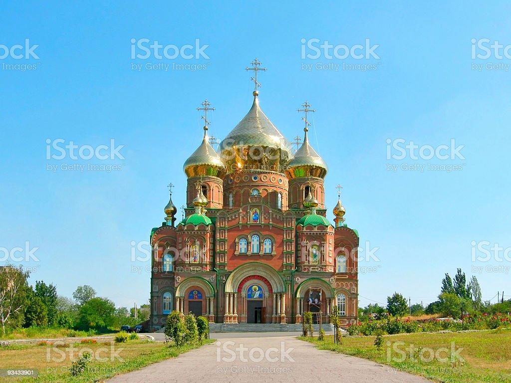 Kathedrale von St.Vladimir Lizenzfreies stock-foto