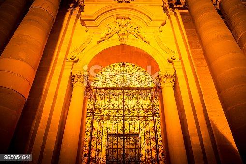 Cathedral Of Syracuse Entrance - Stockowe zdjęcia i więcej obrazów Architektura