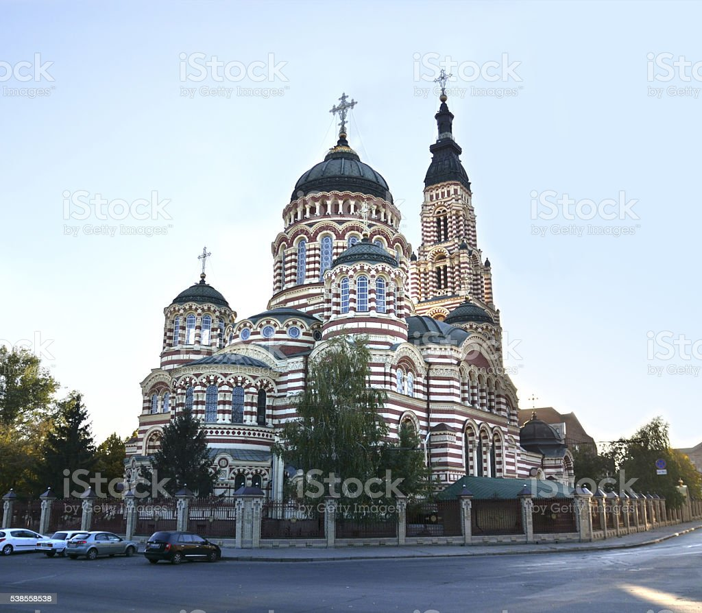 Cathedral of the Annunciation stock photo