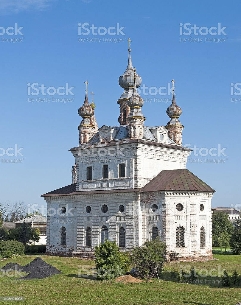 Erzengel-Michael-Kathedrale, die in Yuriev-Polsky – Foto