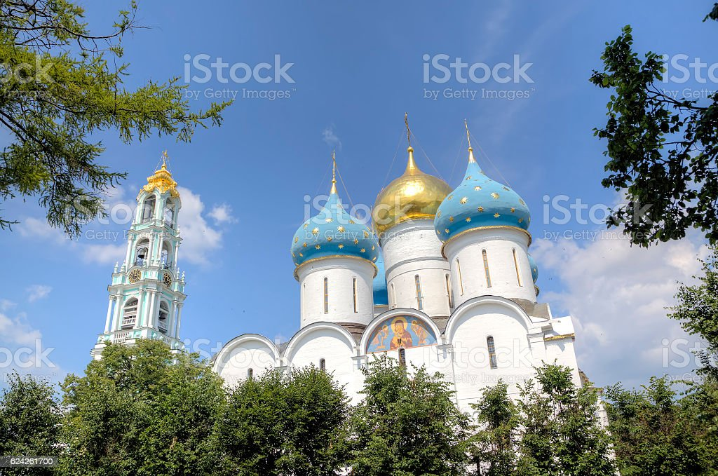 Cathedral of the Assumption of Blessed Virgin Mary. stock photo