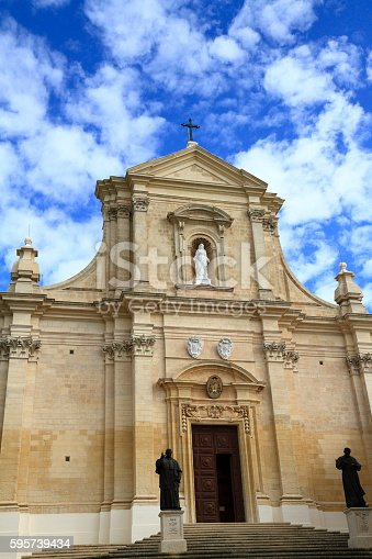 istock Cathedral of the Assumption of Gozo, Malta 595739434