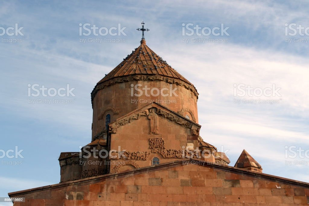 Cathedral of the Holy Cross /Aghtamar stock photo