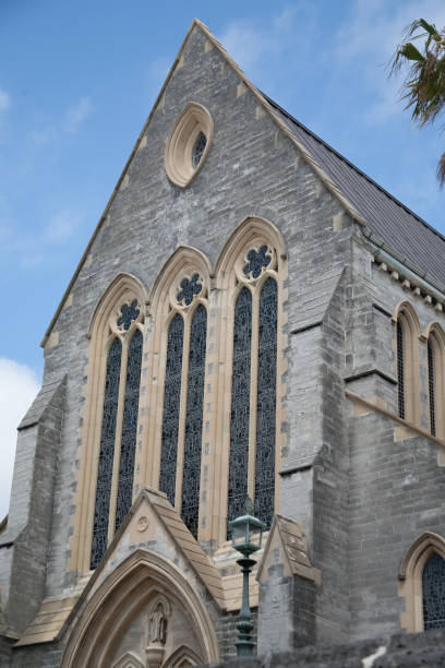Cathedral of the Most Holy Trinity in Hamilton, Bermuda stock photo