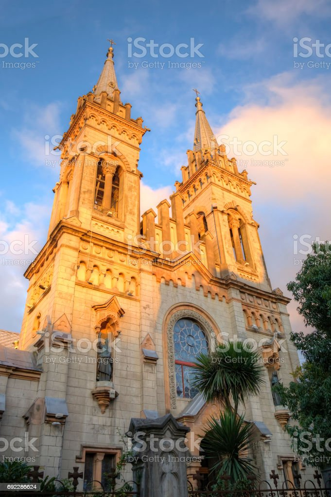 Cathedral of the Nativity of the Blessed Virgin Mary (Batumi Mother of God). Batumi. Georgia. stock photo