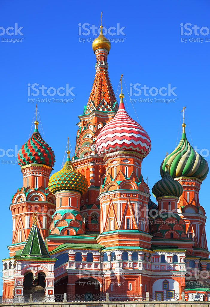 Cathedral on Red Square stock photo