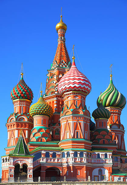 Cathedral on Red Square St. Basil's cathedral on Red Square, Moscow kremlin stock pictures, royalty-free photos & images