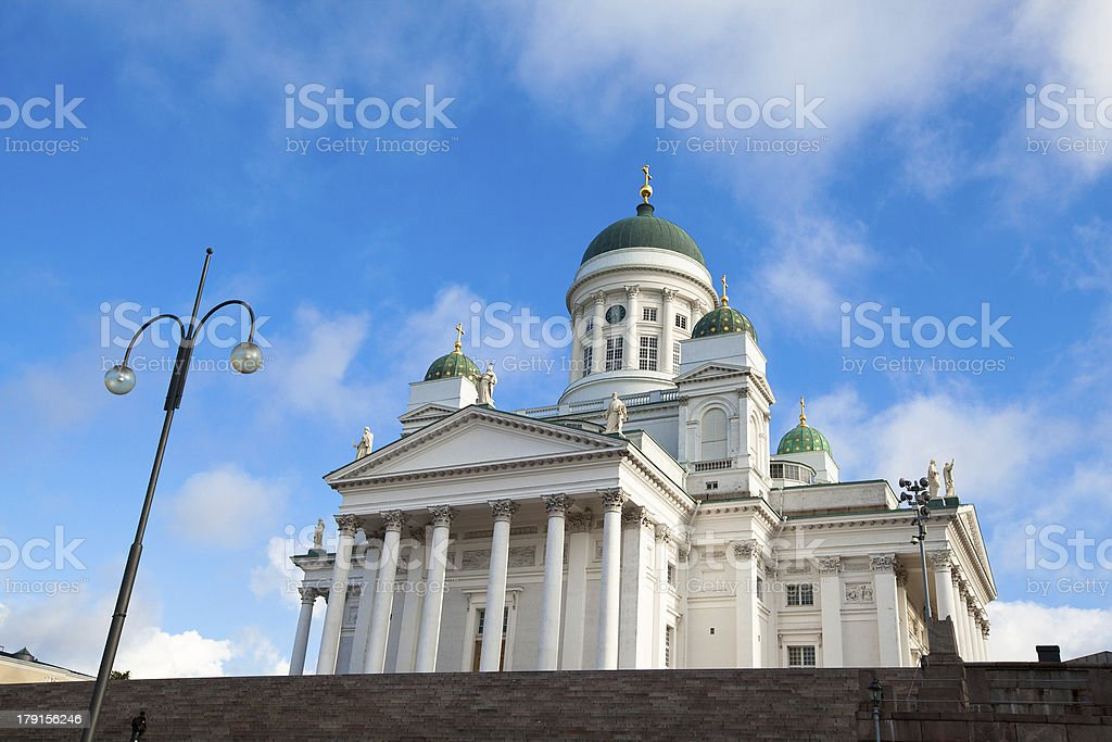 Cathedral on Senate Square. Helsinki. Finland. royalty-free stock photo