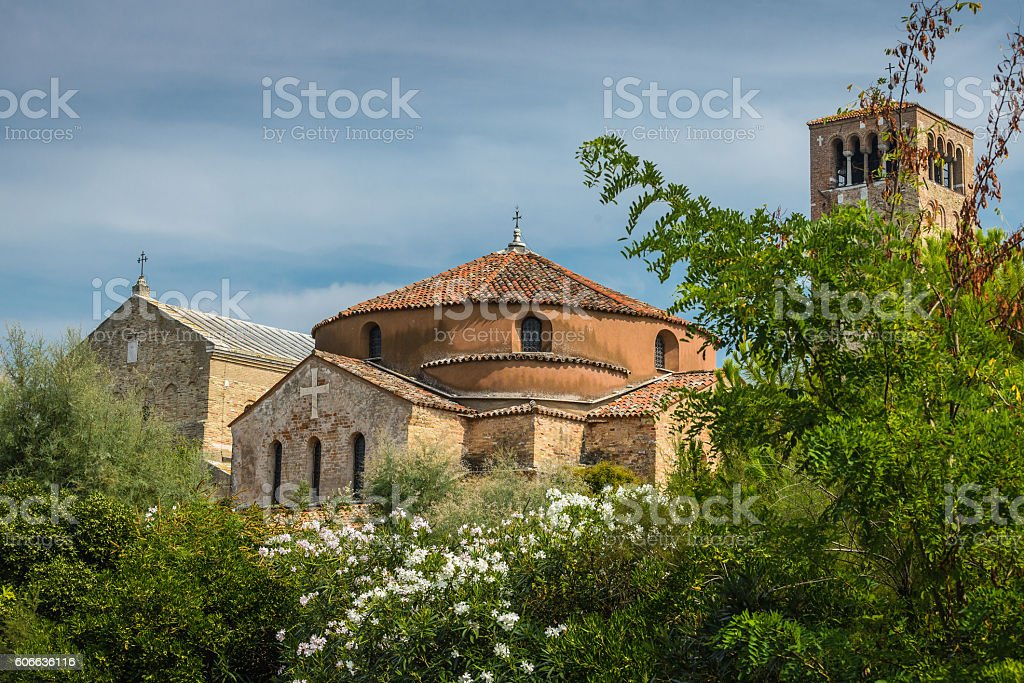 Cathedral on Torcello stock photo