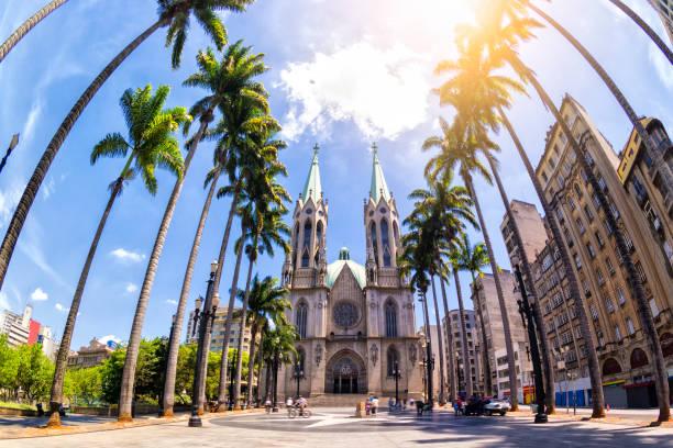 sé catedral - são paulo - fotografias e filmes do acervo