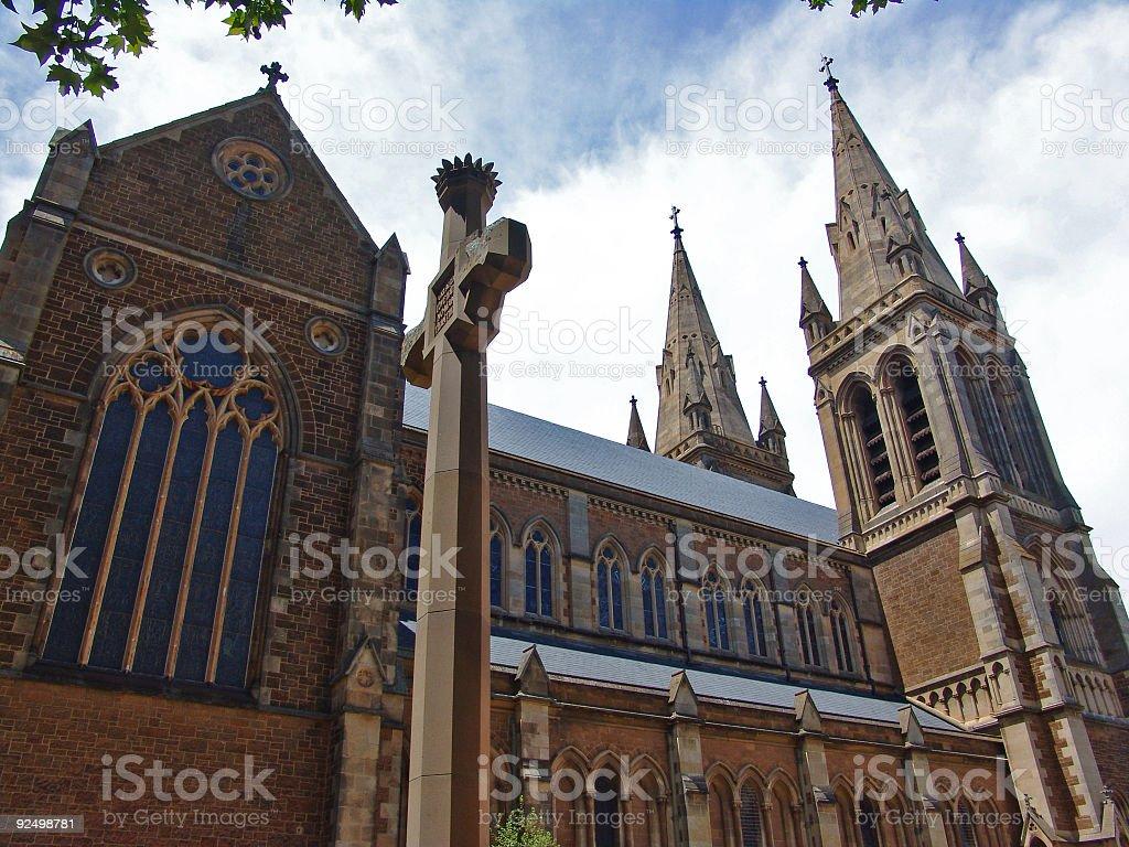 Die Kathedrale Lizenzfreies stock-foto