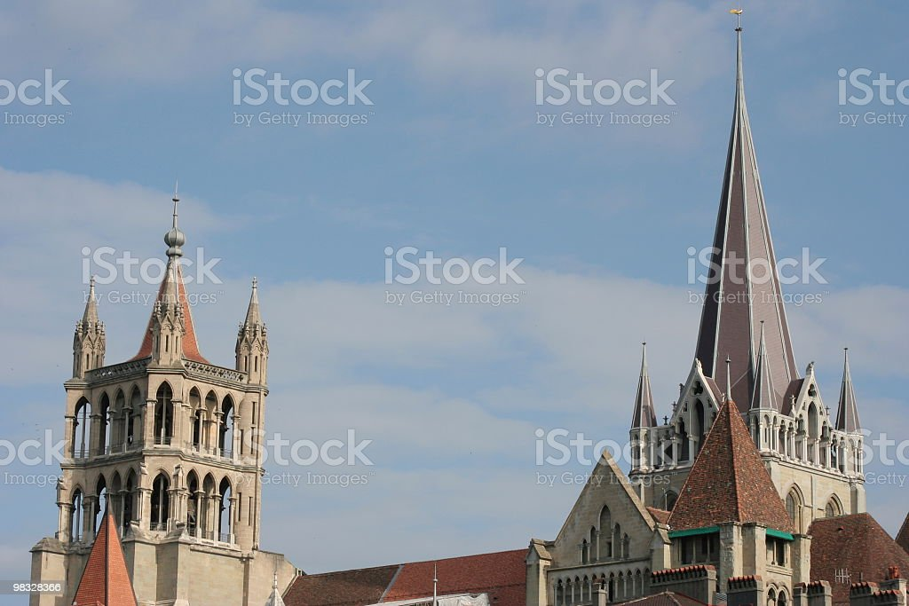 Cattedrale foto stock royalty-free