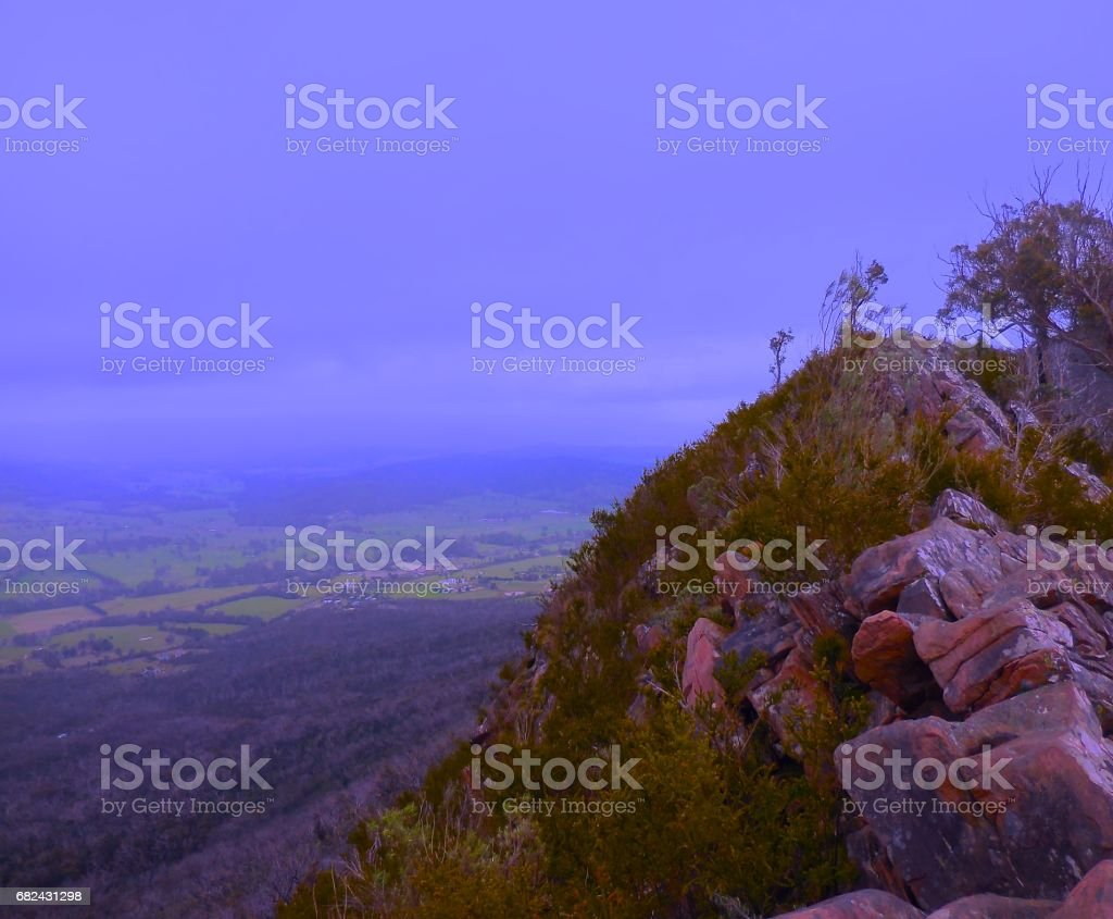 Cathedral Ranges View royalty-free stock photo