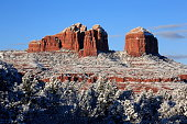 Cathedral Rock is a natural sandstone butte on the Sedona skyline and one of the most-photographed sights in Arizona, United States.