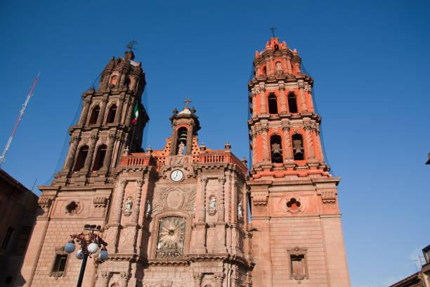 Cathedral San Luis Potosi Cathedral San Luis Potosi, Mexico san luis potosi stock pictures, royalty-free photos & images
