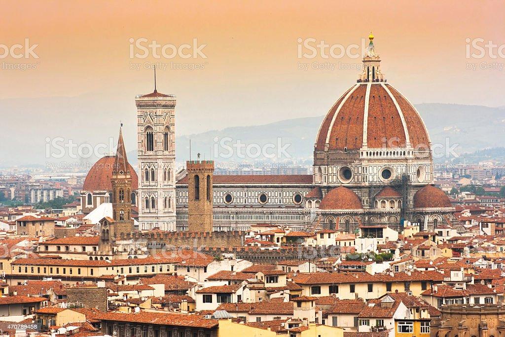 Cathédrale Santa Maria Del Fiore de Giotto Campanile de Saint-Marc, Florence, Italie - Photo